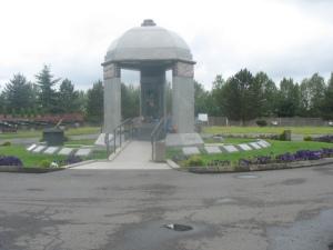 Jimmy Hendrix memorial - Renton, WA