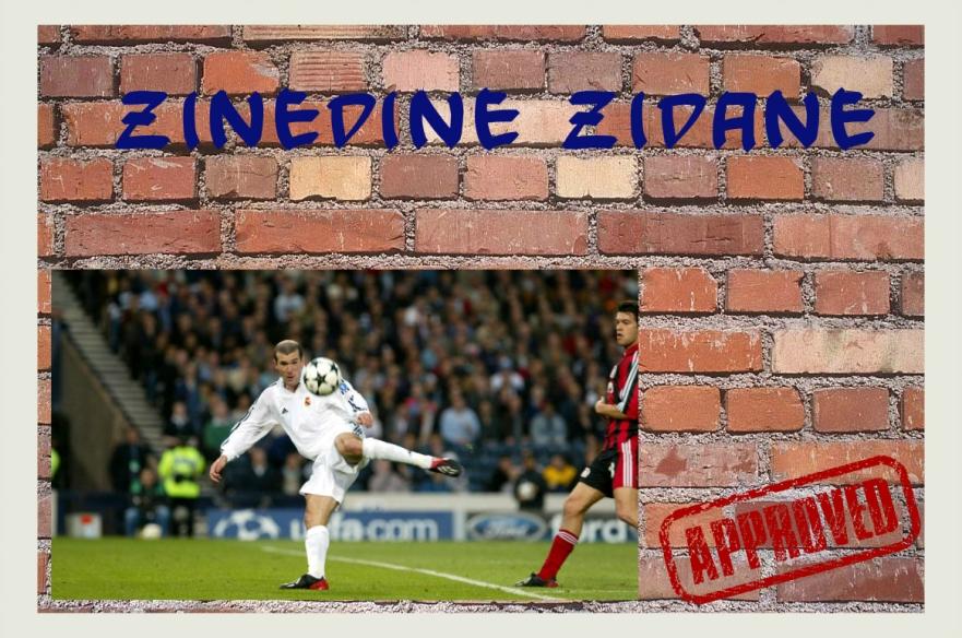 zidanewall